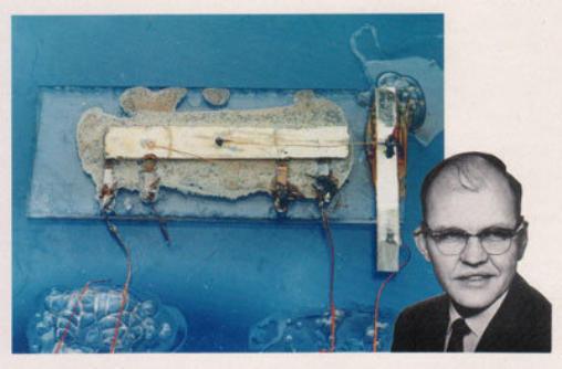 el primer chip inventado por Jack Kilby en 1958