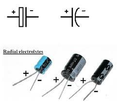 Simbología y polaridad del electrolítico