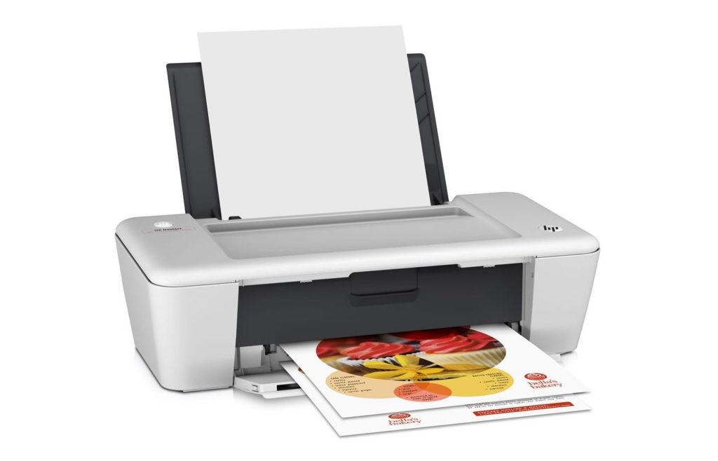 una impresora de tinra