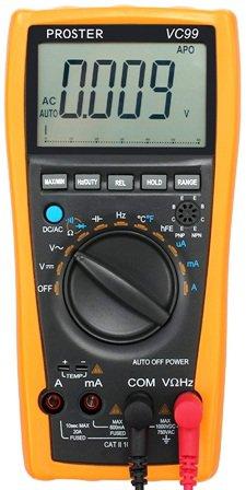 Multímetro Digital PROSTER VC99