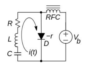 Circuito Oscilador con diodo Gunn