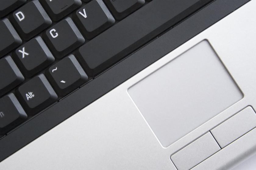 Panel táctil de un portátil