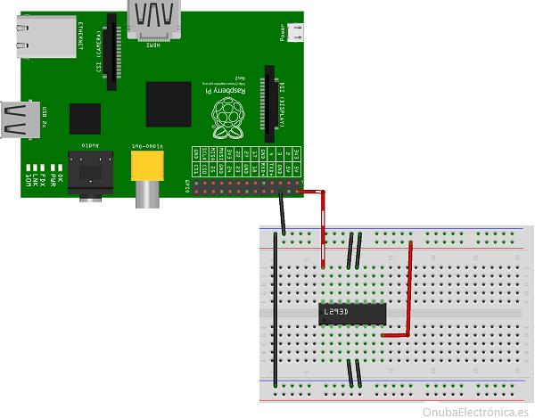controlador motores DC con python