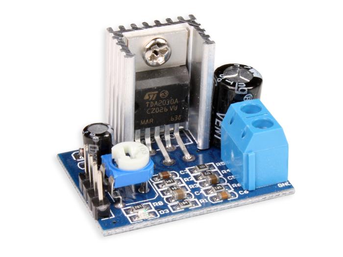 Amplificadores de audio o baja frecuencia construido con TDA2030A