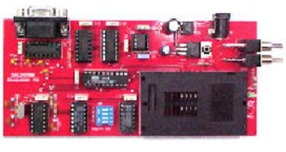 Vista del dispositivo montado