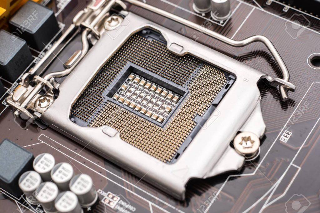 Un tipo de zócalo para la CPU