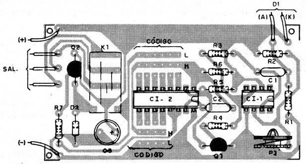Control remoto con infrarrojo codificado