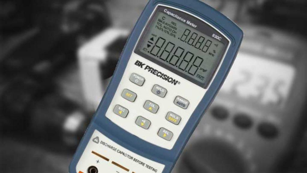 Capacímetro BK PRECISION (Medidor de Capacitancia)