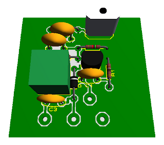 Vista de componentes del transmisor FM