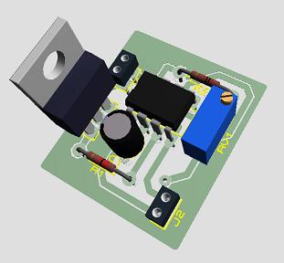 Generador de señal pulsos láser