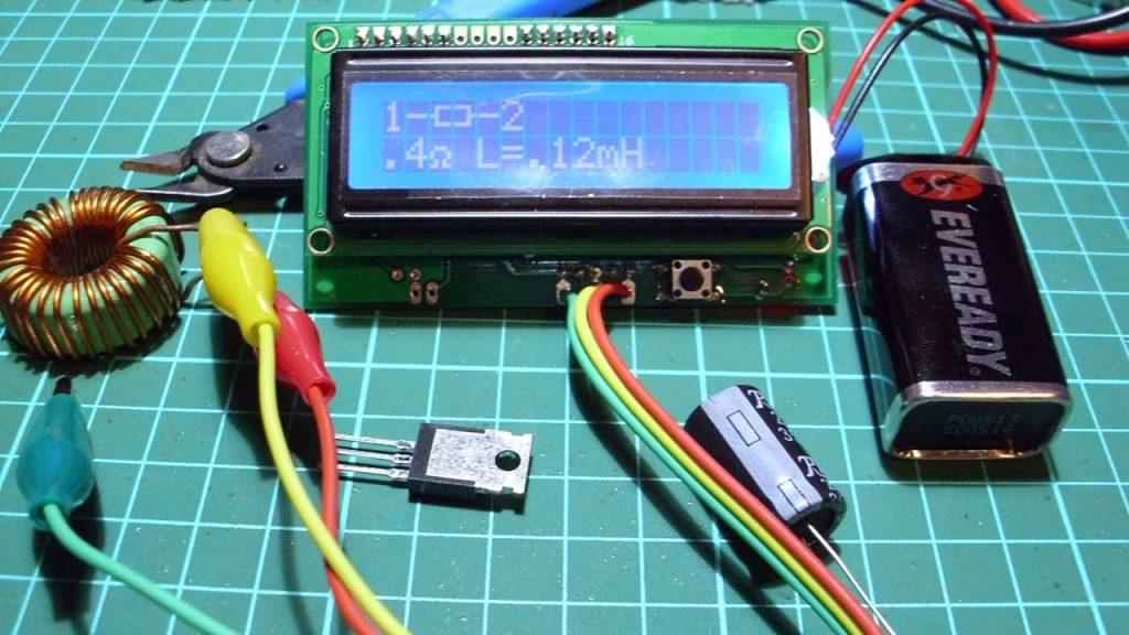 Tester de componentes electrónicos