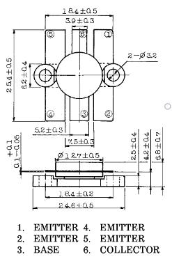 Dimensiones del encapsulado SOT-119