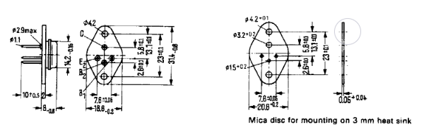 Dimensiones del encapsulado SOT-9