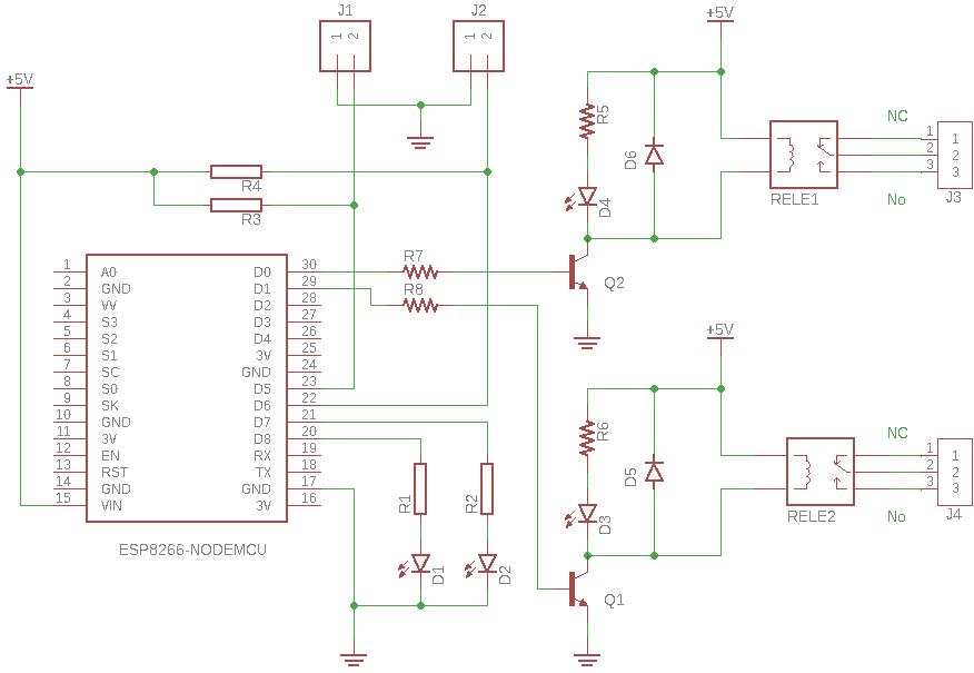 Interruptor Inteligente con NodeMCU ESP8266