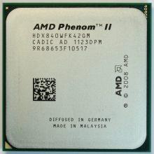 Phenom fue el nombre dado por Advanced Micro Devices (AMD) a la primera generación de procesadores de tres y cuatro núcleos basados en la microarquitectura K10. Como característica común todos los Phenom tienen tecnología de 65nm lograda a través de tecnología de fabricación Silicon on insulator (SOI). No obstante, Intel, ya se encontraba fabricando mediante la más avanzada tecnología de proceso de 45nm en 2008. Los procesadores Phenom están diseñados para facilitar el uso inteligente de energía y recursos del sistema, listos para la virtualización, generando un óptimo rendimiento por vatio. Todas las CPU Phenom poseen características tales como controlador de memoria DDR2 integrado, tecnología HyperTransport y unidades de coma flotante de 128 bits, para incrementar la velocidad y el rendimiento de los cálculos de coma flotante.