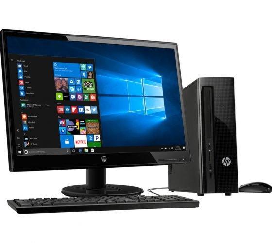 PC de escritorio de la marca HP